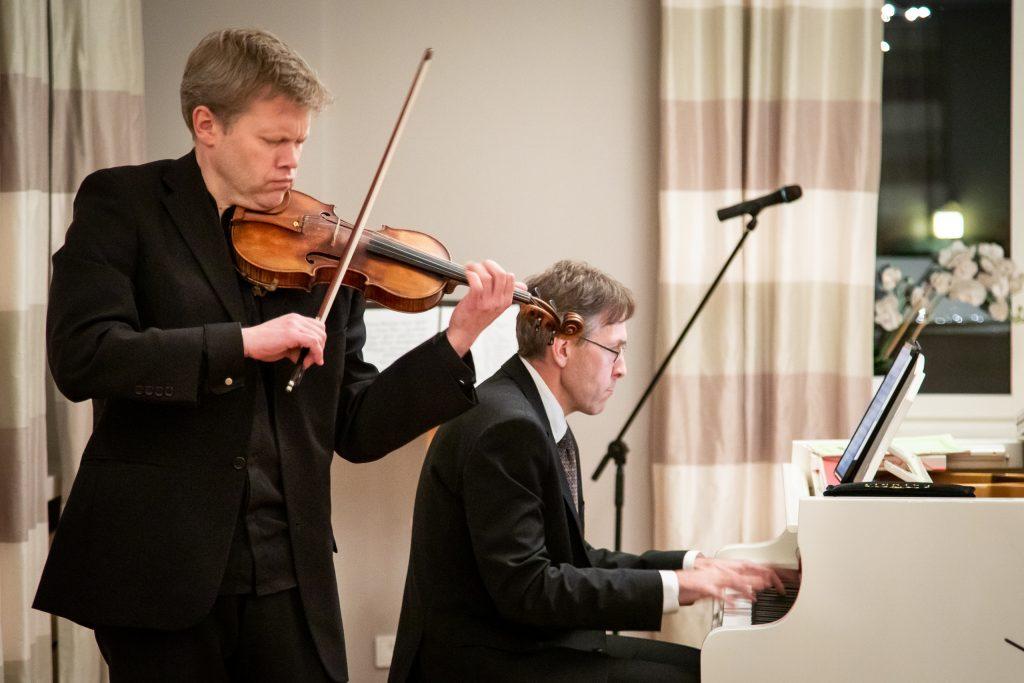 Andrus Haav (violin) and Mart Ernesaks (piano)